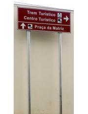 Placa de Orientação Turística